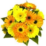 Ярко-желтый букет от Zaray