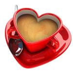 Чашка-сердечко