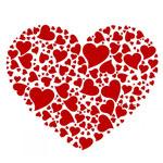Сердечко из сердечек от SEAWIFE
