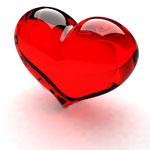 Рубиновое сердечко от PartyIsntOver