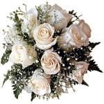 Букет из белых роз от Vladavtopilot
