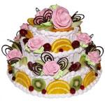 Торт Розы с фруктами от I_Yuo