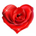 Сердечко-розочка от David1962
