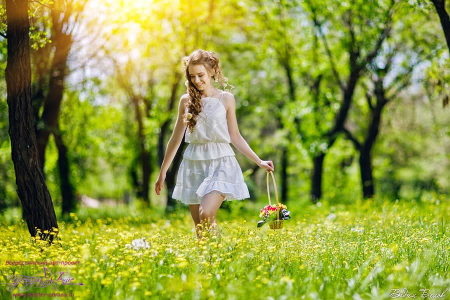Идеи весна на улице