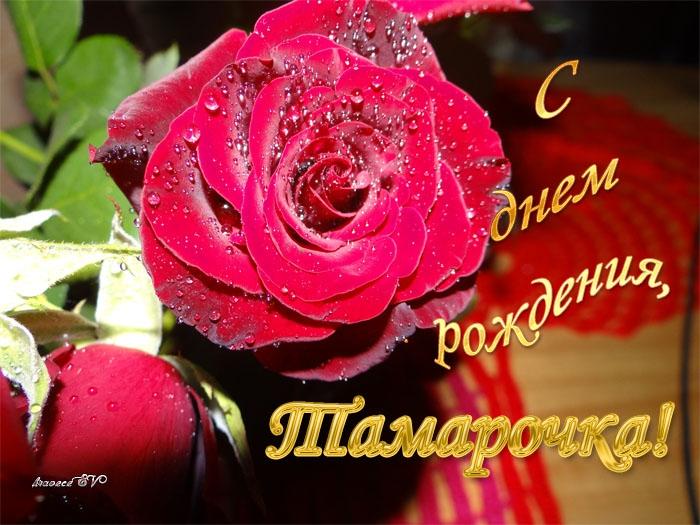 Тамаре поздравления с днем рождения