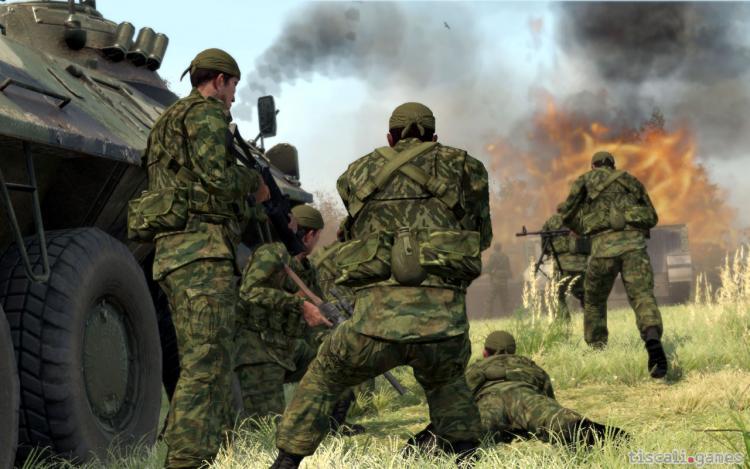 Скачать бесплатно ArmA 2: Operation Arrowhead (2010/GER) .