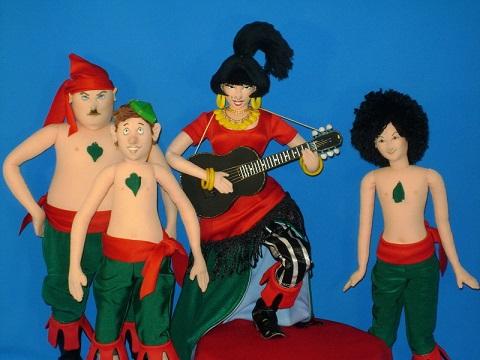 Костюм бременские музыканты своими руками 88