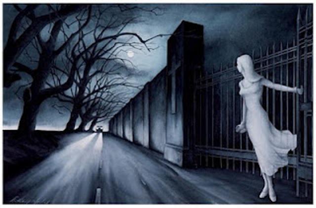 Девушка с кладбища Воскресения