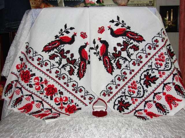 Самый главный свадебный рушник